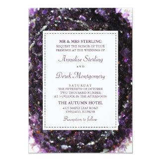 Faire-part de mariage de violette de Geode |