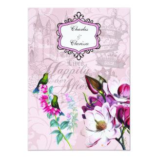Faire-part de mariage des magnolias 5x7 de