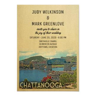 Faire-part de mariage Tennessee de Chattanooga