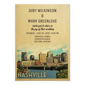 Faire-part de mariage Tennessee de Nashville