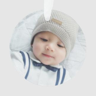 Faire-part de naissance avec la photo nouveau-née