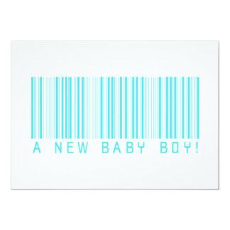 Faire-part de naissance de bébé