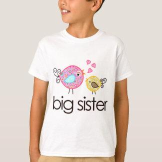 Faire-part fantaisie de T-shirt de grande soeur
