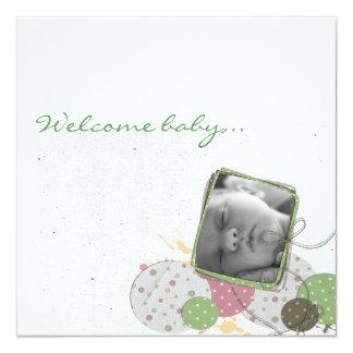Faire-part naissance design JillCreation