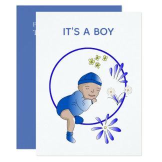 Faire-part nouveau-né de bébé