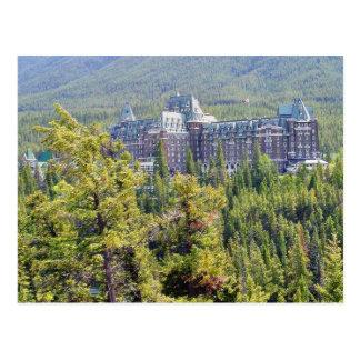 Fairmont Fairmont Banff Springs dans Banff Canada Carte Postale