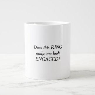Fait cet anneau m'incitent à sembler la tasse de