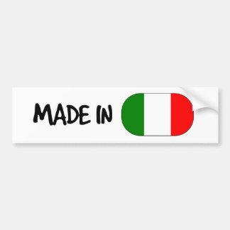 Fait dans l'adhésif pour pare-chocs de l'Italie Autocollant De Voiture