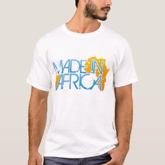 Fait dans le T-shirt de l'Afrique