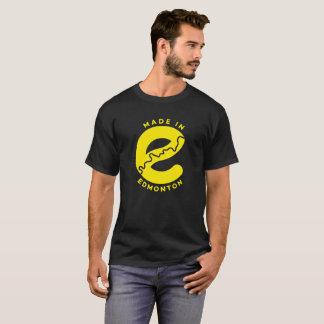 Fait dans le T-shirt d'Edmonton