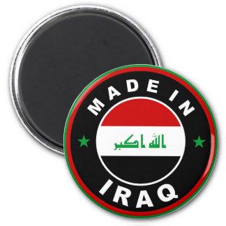 fait dans le timbre rond d'étiquette de drapeau de magnet rond 8 cm