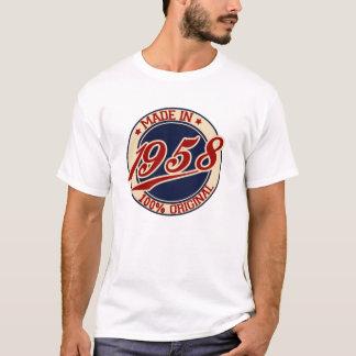 Fait en 1958 t-shirt
