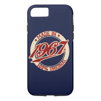 Fait en 1967 coque iPhone 8/7