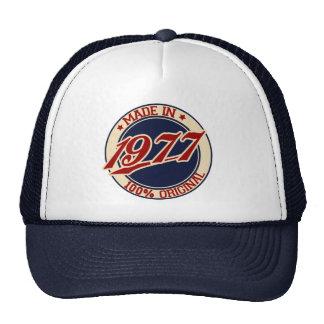 Fait en 1977 casquettes de camionneur