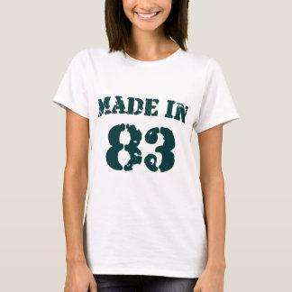 Fait en 1983 t-shirt