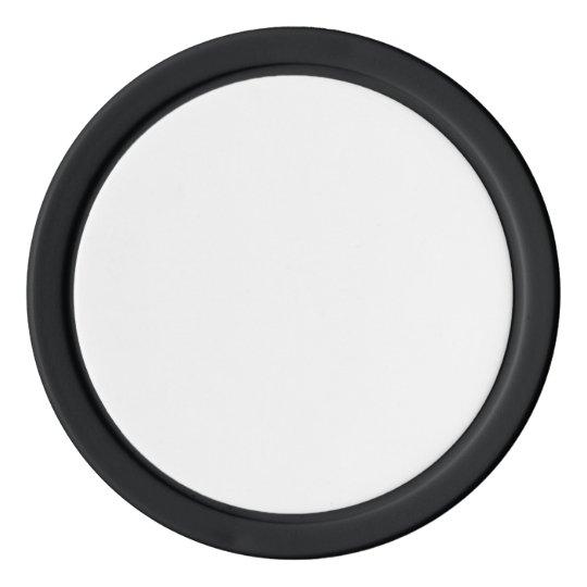 Jetons de poker en argile, Noir Bord couleur argent