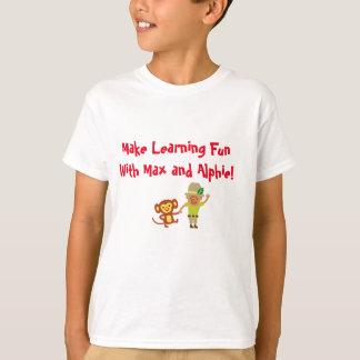 Faites apprendre l'amusement avec le T-shirt