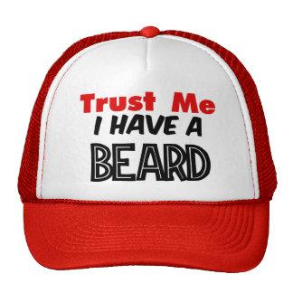 Faites confiance que je j a un chapeau de barbe casquettes de camionneur
