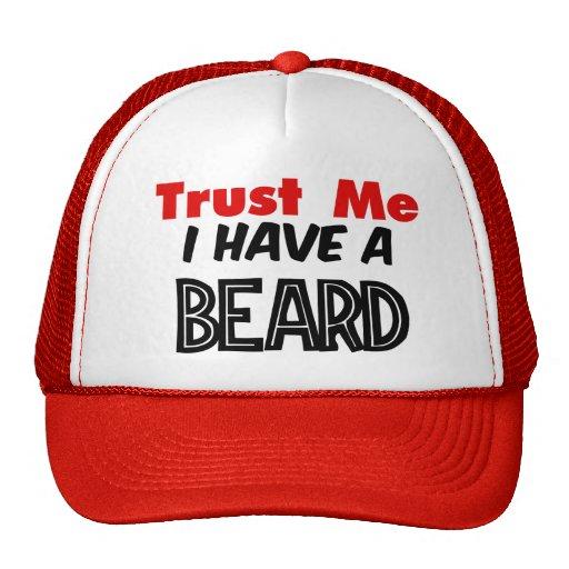 Faites confiance que je j'a un chapeau de barbe casquettes de camionneur