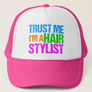 Faites confiance que je je suis un coiffeur casquette