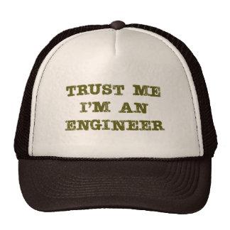 Faites confiance que je je suis un ingénieur (brun casquettes de camionneur