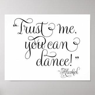 Faites confiance que je vous peut danser -