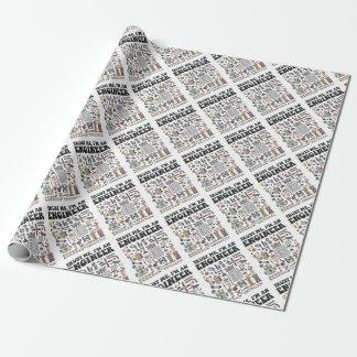 Faites- confiancemoi, je suis un ingénieur papier cadeau
