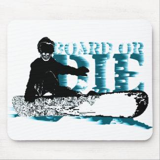 faites du surf des neiges ou mourez tapis de souris