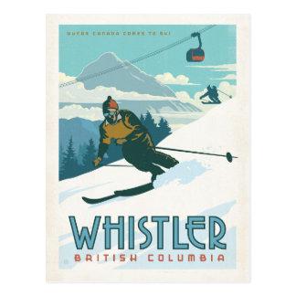 Faites gagner la date | Whistler, Cartes Postales