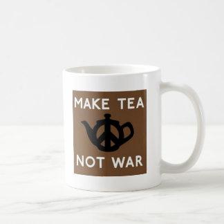 Faites la guerre de thé pas mug