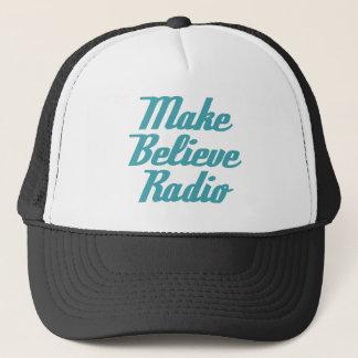 Faites pour croire le casquette par radio de