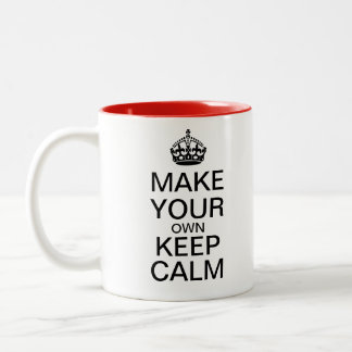 Faites vos propres garder la tasse calme - modèle