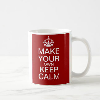 Faites vos propres maintenir la tasse calme -