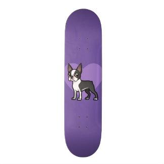 Faites votre propre animal familier de bande plateaux de skateboards customisés