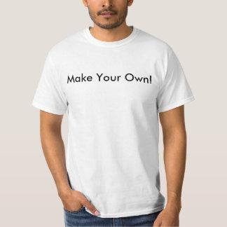 Faites votre propre T-shirt