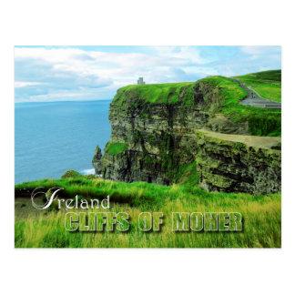 Falaises de Moher, comté Clare, Irlande Carte Postale