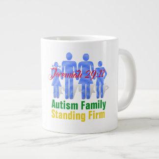 Famille d'autisme (écriture sainte) - tasse enorme