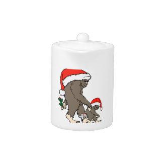 Famille de Bigfoot de Noël
