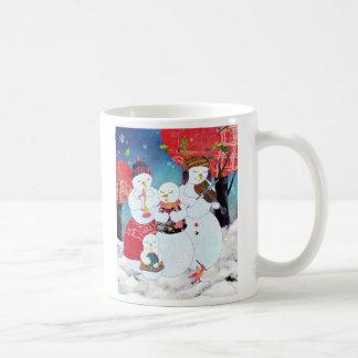 famille bonhomme neige tasses et mugs. Black Bedroom Furniture Sets. Home Design Ideas