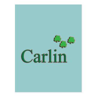 Famille de Carlin Carte Postale