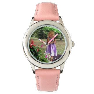 Famille faite sur commande ou image personnalisée montres bracelet