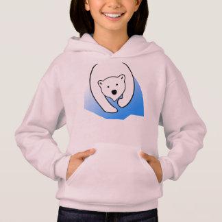 famille polaire blanche d'ami d'ours mignon