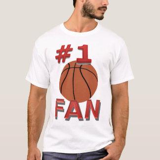 Fan de basket-ball du numéro 1 t-shirt