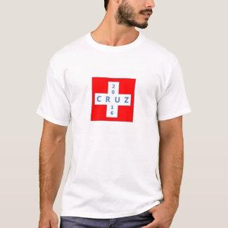 Fanez Cruz pour le Président Tshirt avec la croix