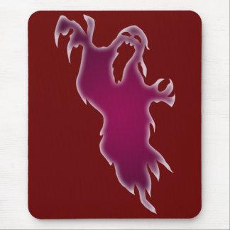 Fantôme criard Mousepad Tapis De Souris