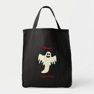 Fantôme effrayant de Halloween - sac fourre-tout à