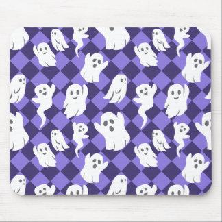 Fantômes de Halloween Tapis De Souris