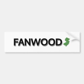 Fanwood, New Jersey Autocollant De Voiture