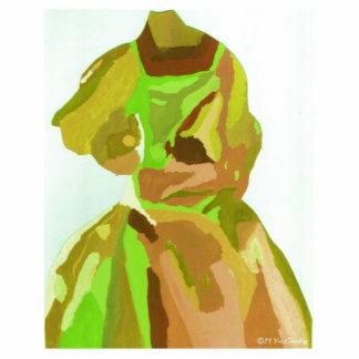 Fashionista de diva au printemps découpages en acrylique