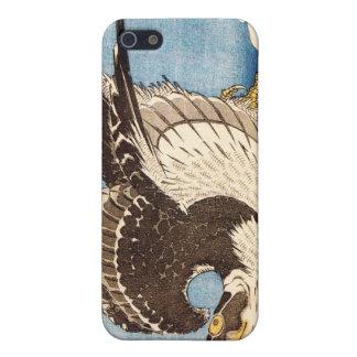 Faucon de vol, Hokusai Étuis iPhone 5
